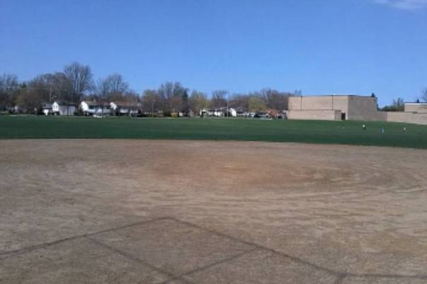 Fastpitch view from home plate