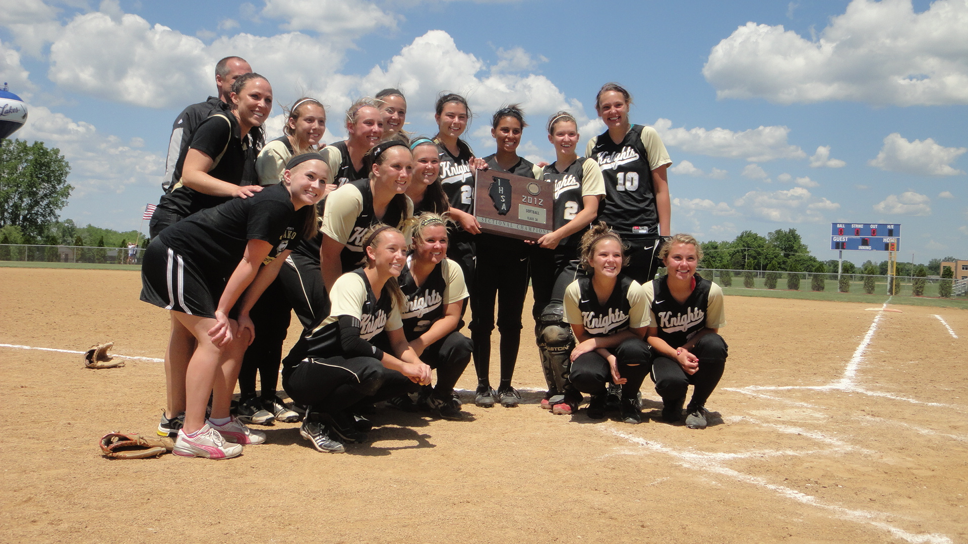 Grayslake North wins the 2012 Sectional Title