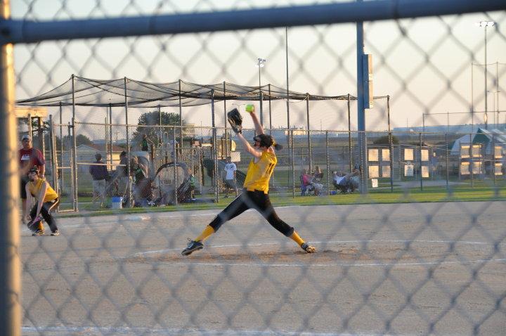 Tina pitching