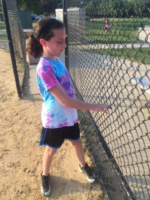 Drill for learning the finish on a changeup