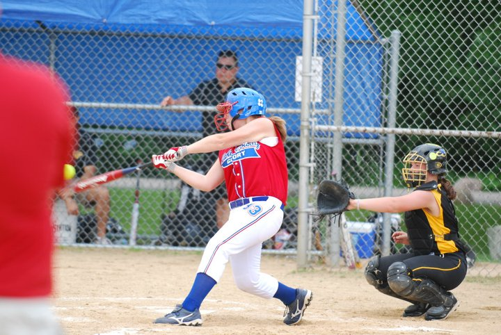 Fastpitch hitters should be deciding whether to stop instead of whether to start.