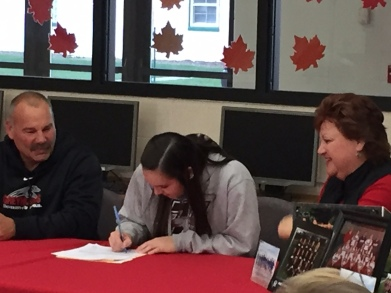 Signing a National Letter of Intent