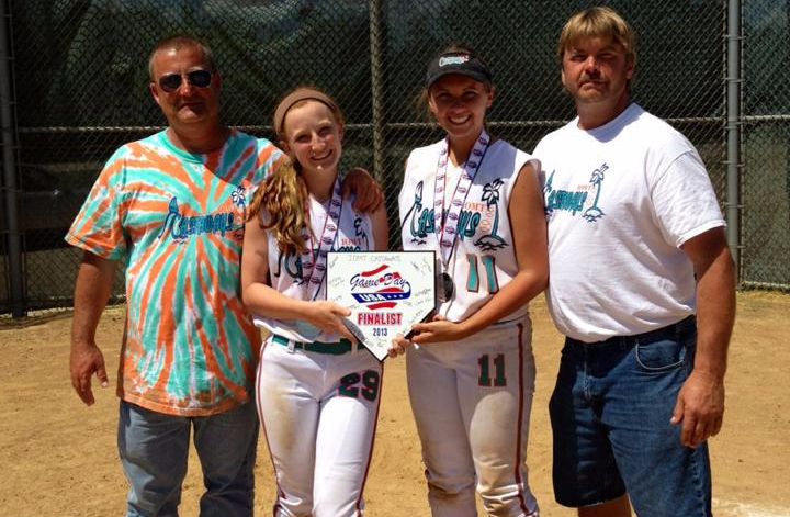 Fathers and daughters build a special relationship through fastpitch softball
