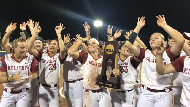 Oklahoma repeats as NCAA Division 1 softball champs