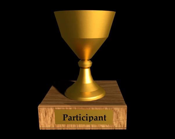 Participant Trophy