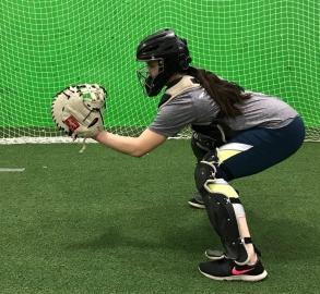 Rachael catcher stance