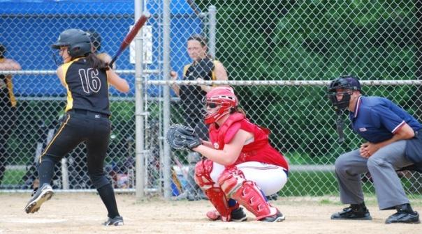 Ashley catching