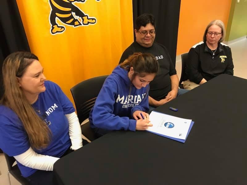 Allison actual signing