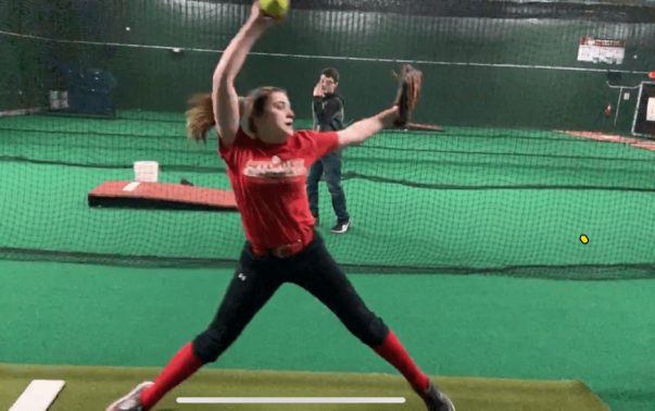 Ally pitching