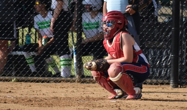 Catcher squatting