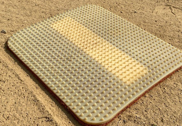 Pitching rubber bottom