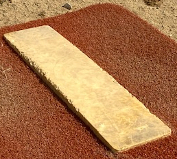 Pitching rubber top